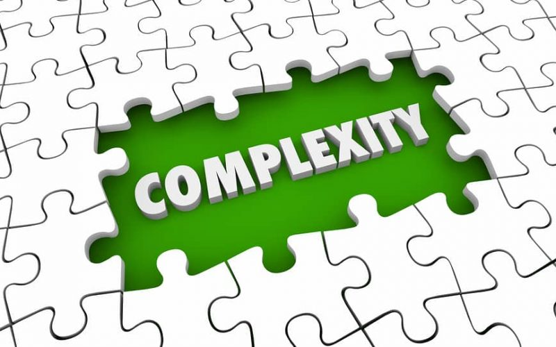Complexity Complications Puzzle Pieces Hole 3d Illustration